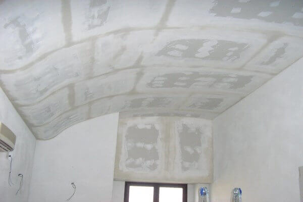 Controsoffitto-onda in cartongesso